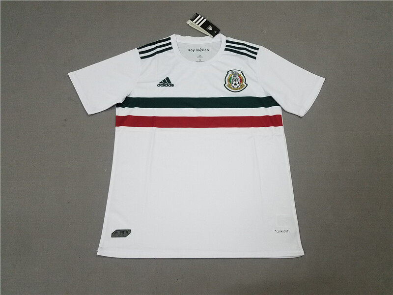 66bae7dfc CHICHRRITO 14 Mexico Away White 2018 World Cup Soccer Jersey Fan Version