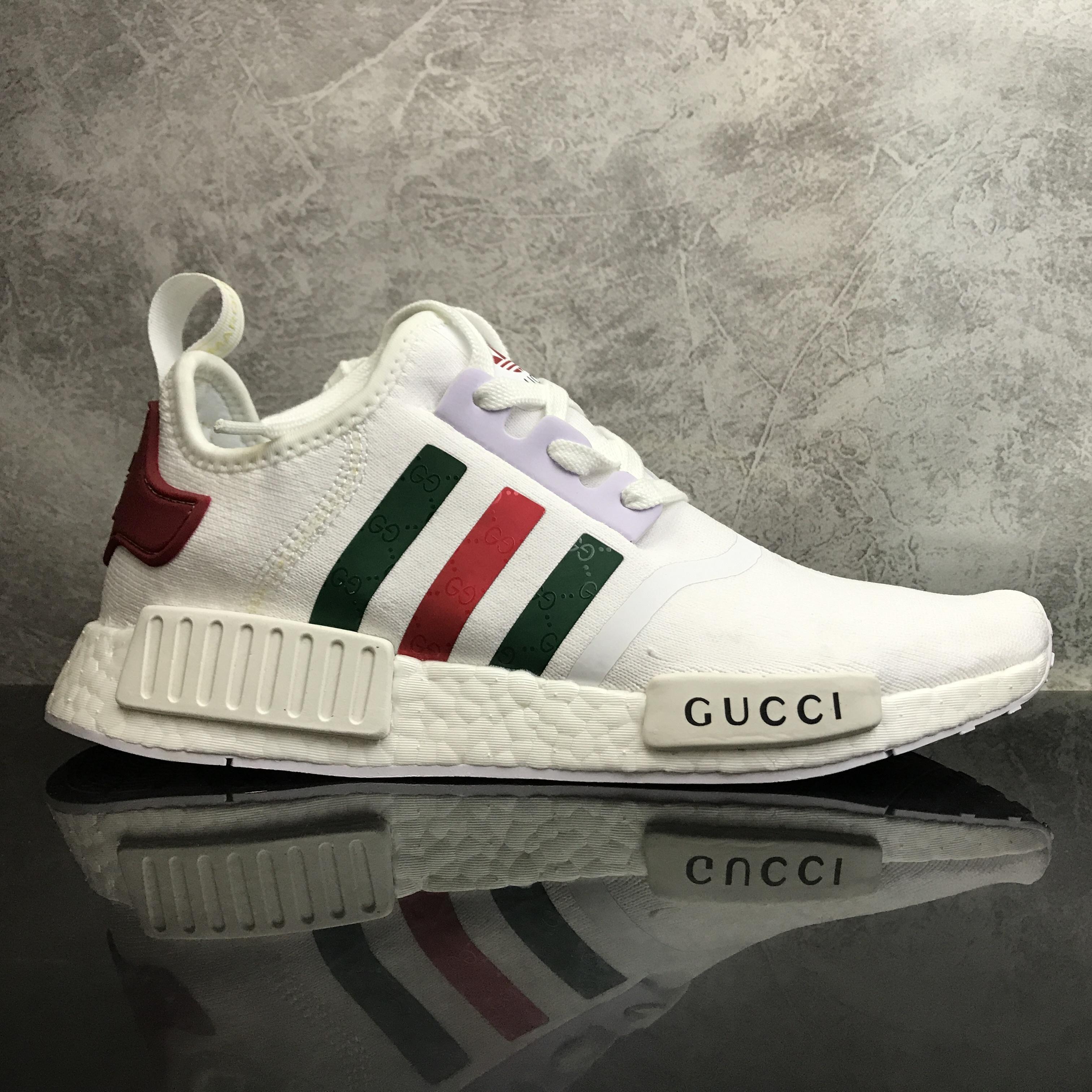 56a9feb93 Adidas NMD _ R1 × Gucci