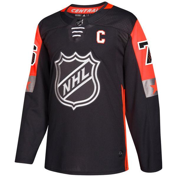 more photos 536b9 135c4 Men's Nashville Predators PK Subban adidas Black 2018 NHL All-Star Game  Central Division Authentic Player Jersey