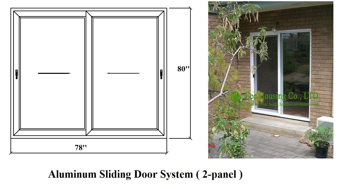Aluminium Sliding Door System