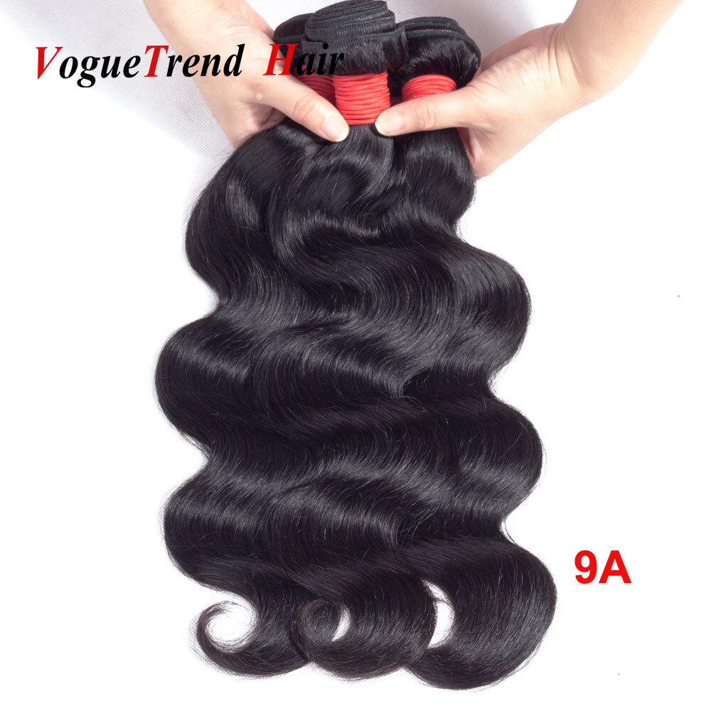 Voguetrend Hair Peruvian Body Wave Hair Bundles 9a Human Hair Weave