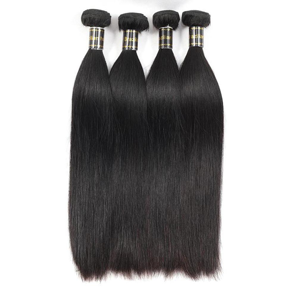 Glamorous Remi Hair 3 Bundles Straight Hair Extensions 100 Virgin