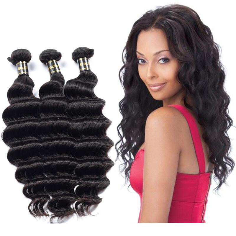 Maylasremy Human Hair Extensions Unprocessed Virgin Weave Hair