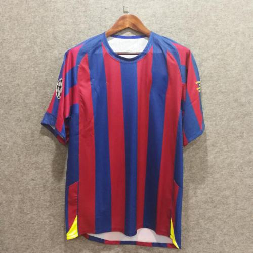 e9cbe40a568 Final 2006 Retro Barcelona soccer jersey messi xavi henry puyol david villa  A iniesta UCL liga