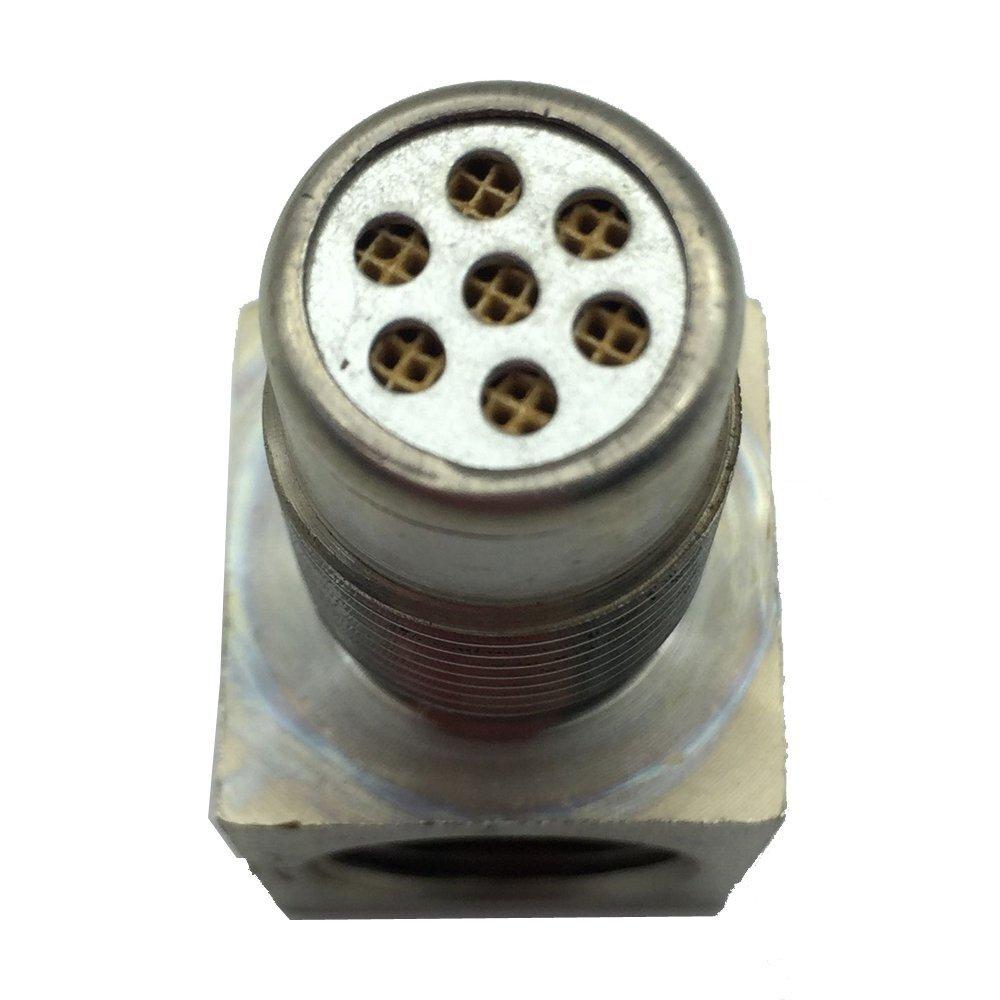 90 Degree Oxygen O2 Sensor Socket Real Mini Catalytic Converter 201 Stainless