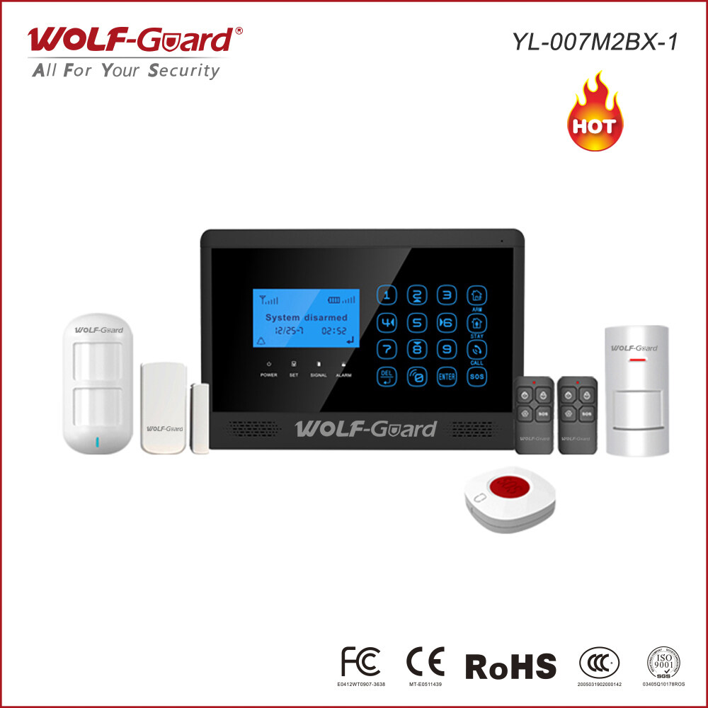 Wired Security System Kit Wire Center Wireless Testing A Pt2262based Remote Control Element14 Gsm Alarm Lcd Screen 4 X And 10 Rh Wolf
