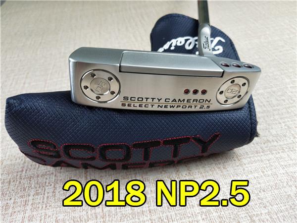2018 SCOTTY CAMERON Golf Putter 2018 golf club NP2 TNP TN2 golf putter  title square back FastBack TFB TSB tour