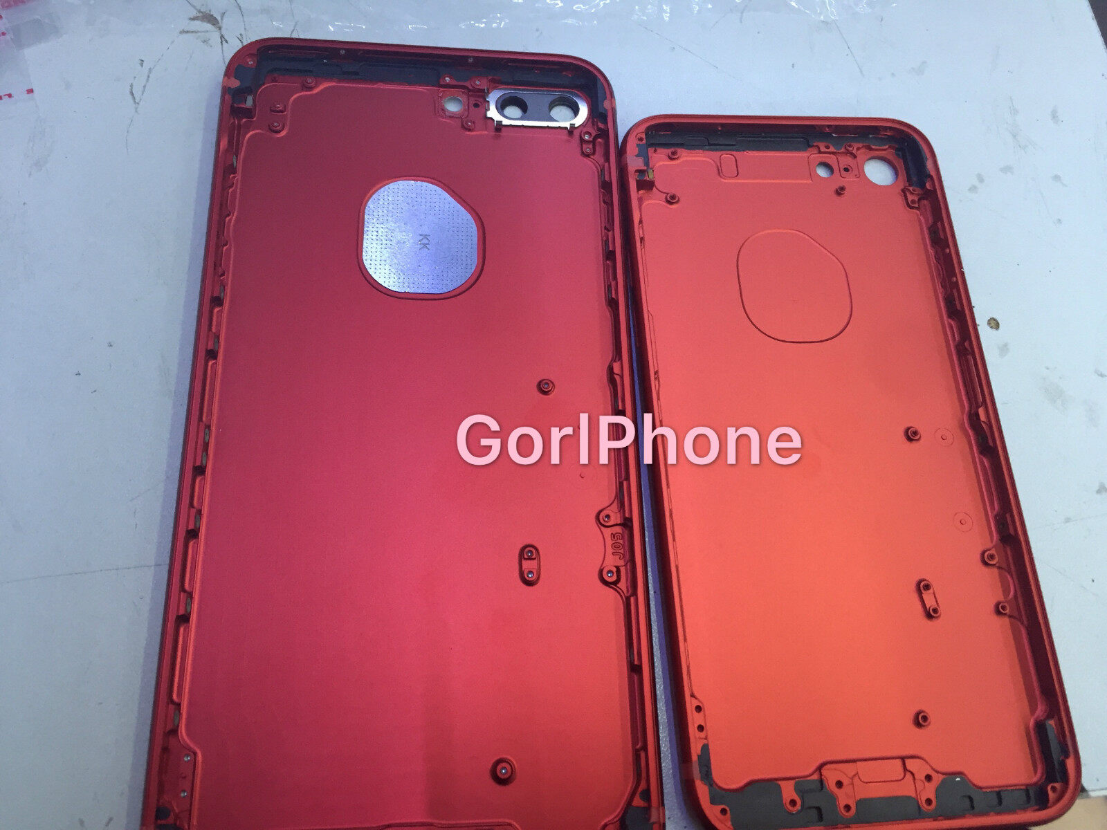 iphone7 plus original red housing (with buttons and apple logo) (can ...