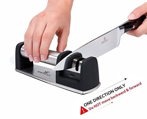 Professional Knife Sharpener Soufull 2 Stage Diamond