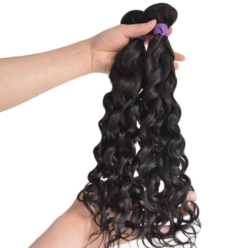 Airao Water Wave 100 Real Human Hair Bundles Brazilian Hair Weave