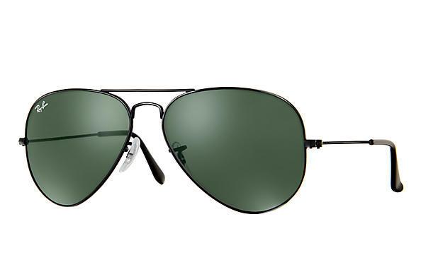 1e1033fe5bdc Ray-Ban RB3025 Aviator Large Metal Non-Polarized Sunglasses