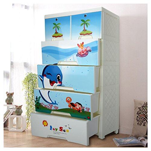 & Kids Closet storage cabinet with 4 Drawers and 2 Storage Cabinets