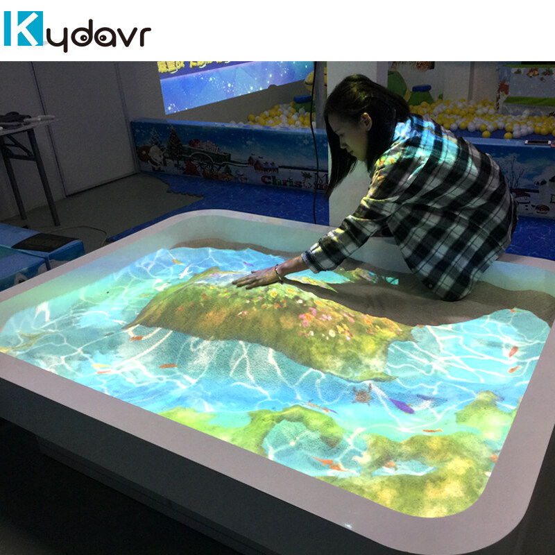 Interactive Table Games Ar Table Projection System