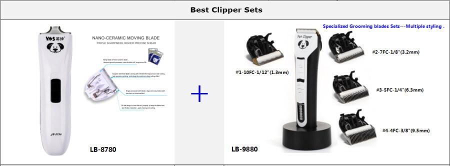 Best seller in Dog Grooming- hair clipper set
