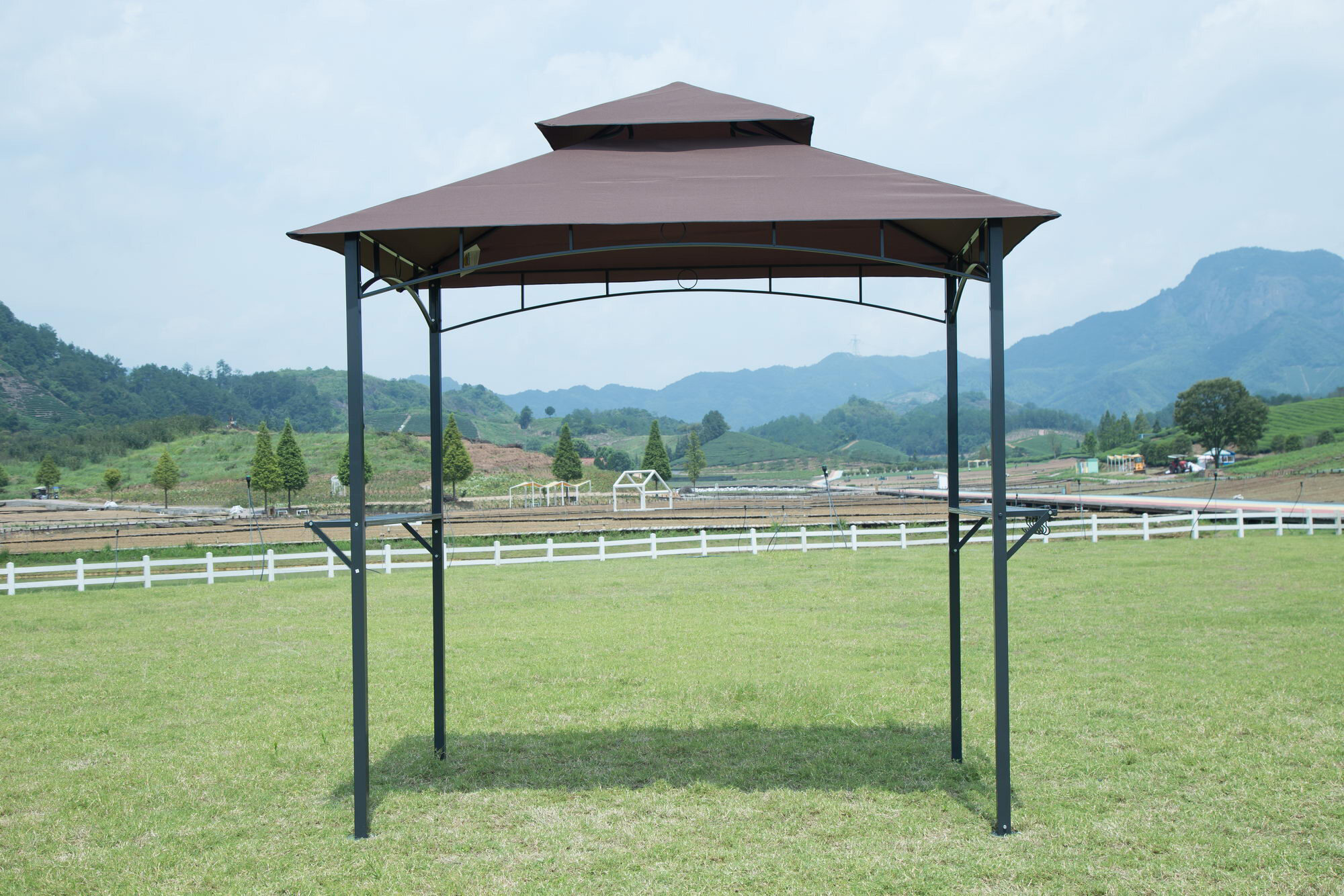 BBQ Canopy Tent Barbecue Gazebo Grill Outdoor Shelter Yard ...