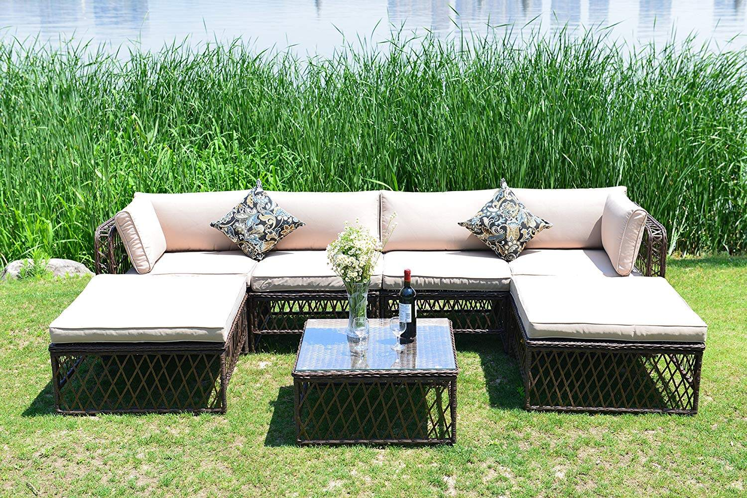 Outdoor Corner Sectional Cover
