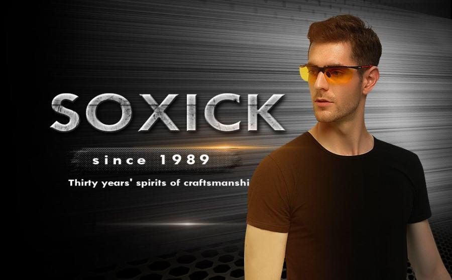 SOXICK glasses brand history