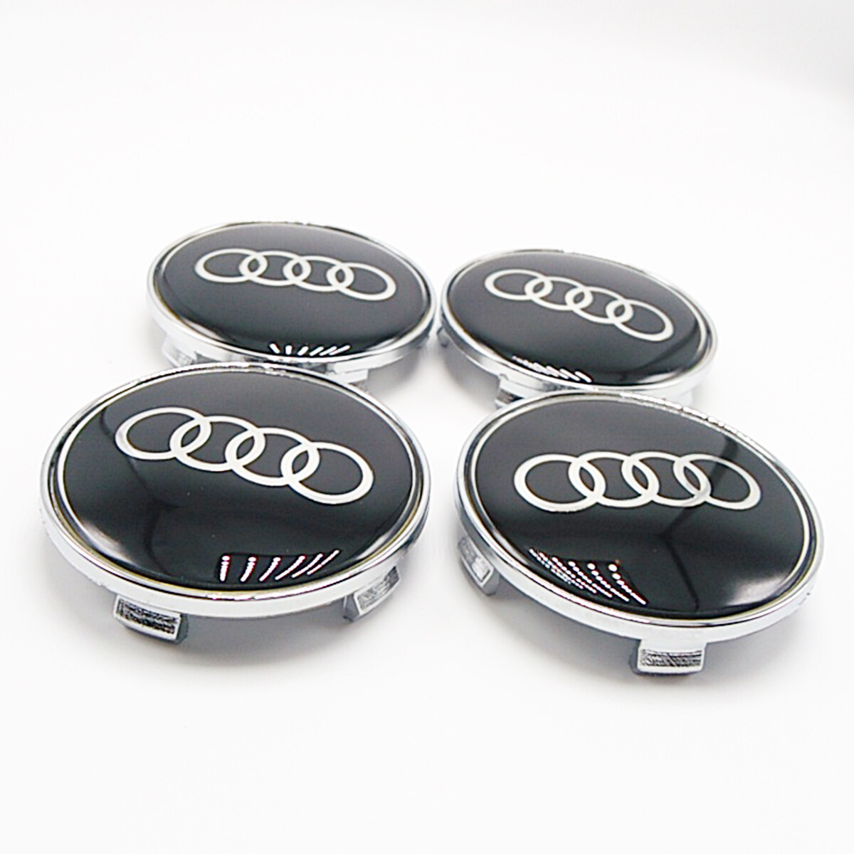 Mm Car Emblem Badge Sticker Wheel Centre Caps Cover - Audi car emblem