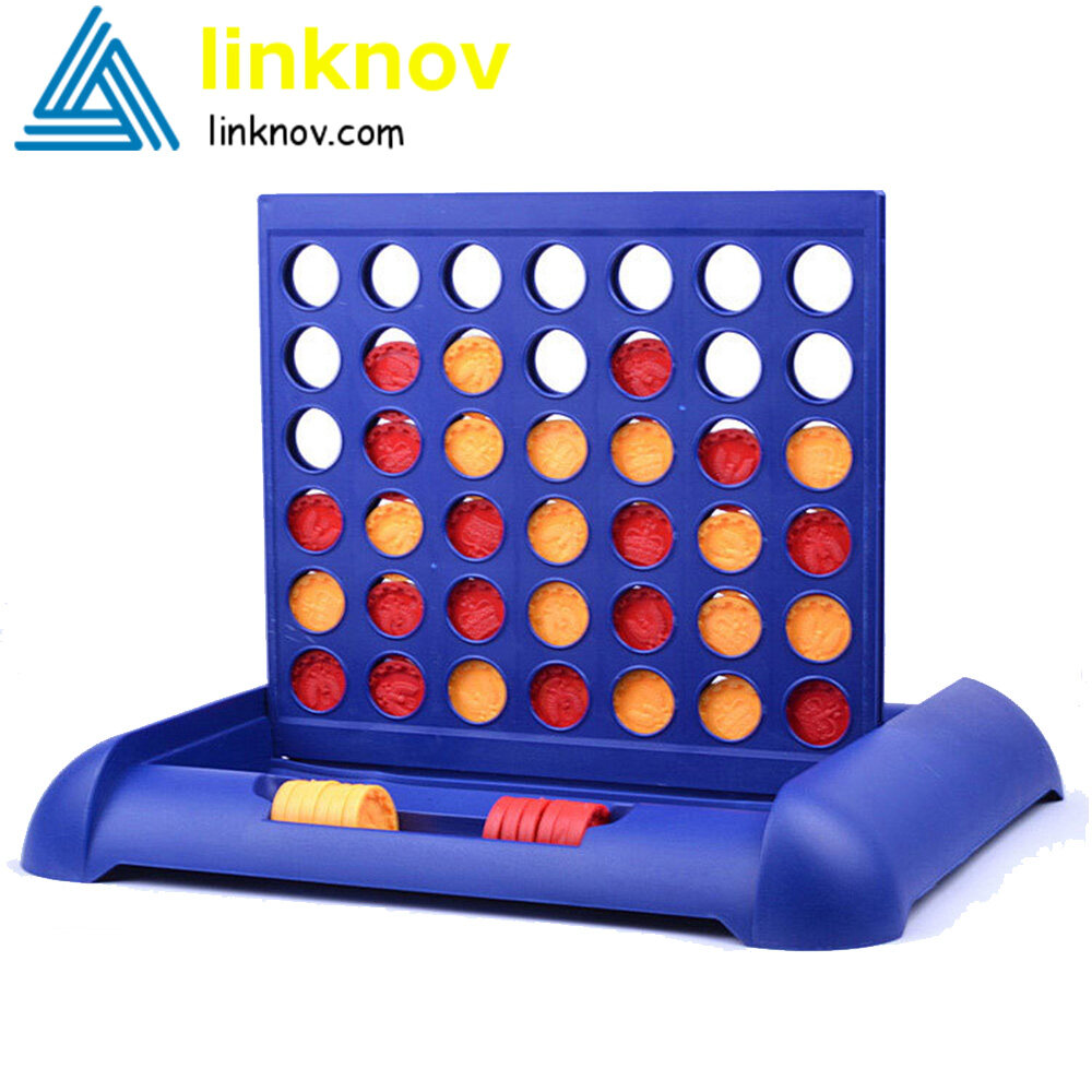 Connect Four Game Giant Connect 4 Chess Board Game Math Puzzle Kids ...