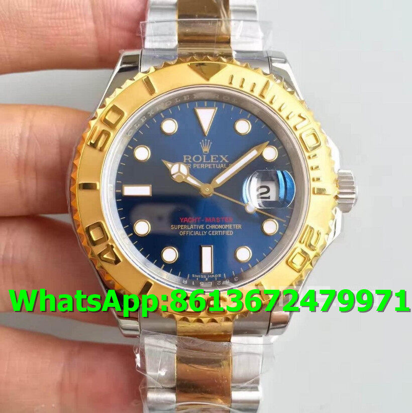 Rolex Yacht,Master 116623 Two Tone Stainless Steel Yellow
