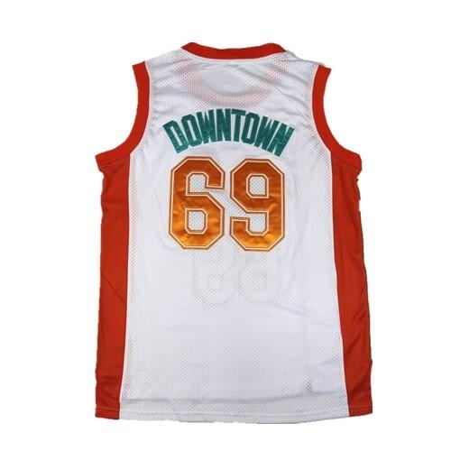 0f2ab95d29e Semi Pro Flint Tropics Jackie Moon 33  Coffee Black 7  Ed Monix 11   Downtown  69 Throwback basketball jerseys