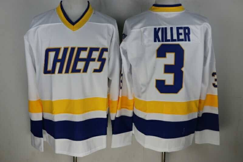 Hanson Brother 1 3 7 16 17 18 Charlestown Chiefs Ice Hockey Jersey Retro 3df3dc9bc