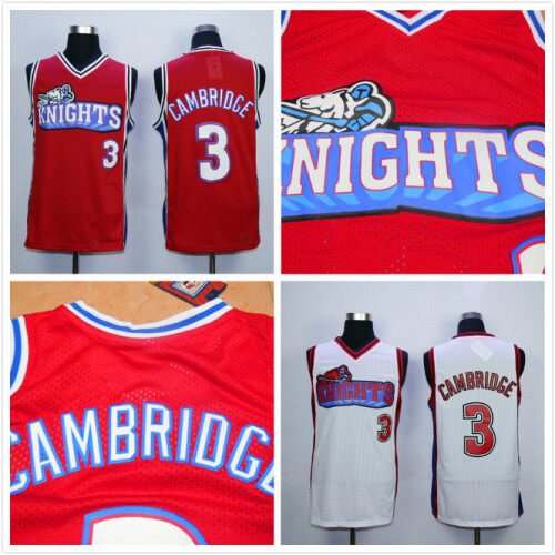d873eaa8872d Calvin Cambridge 3 Like Mike Knights Movie Basketball Jerseys Stitched