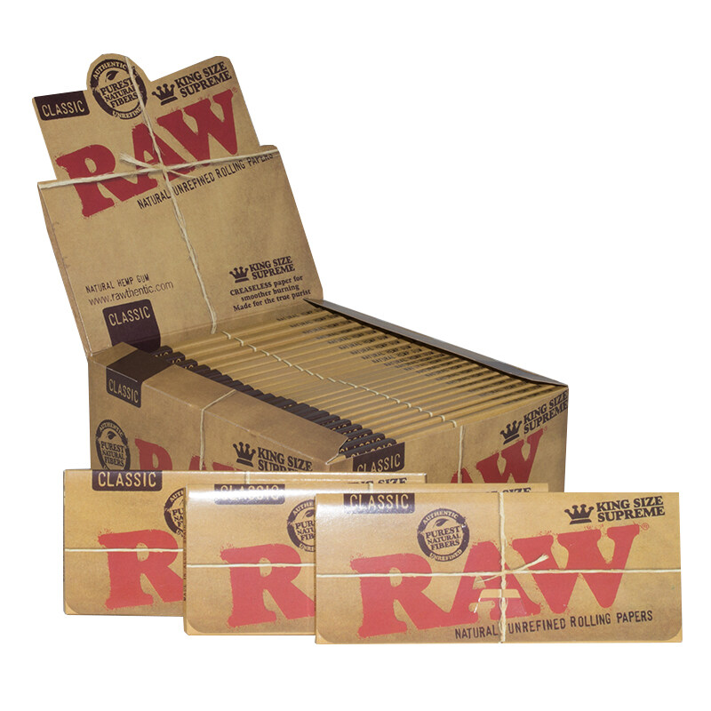 How To Use Raw Natural Unrefined Rolling Papers