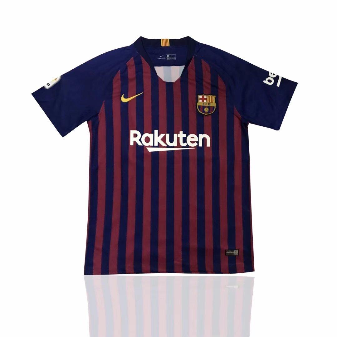 2018 19 wholesale Barcelona home 3rd away SUAREZ MESSI O.DEMBELE 18 19 man  soccer Jerseys Camiseta men football Jersey 62af11f633e61