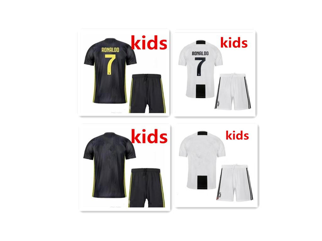 online retailer 8c685 6aa88 18 19 Juventus HOME 3rd away kids CRISTIANO RONALDO MAGLIA GARA HOME SHIRT  2018/19 soccer jersey