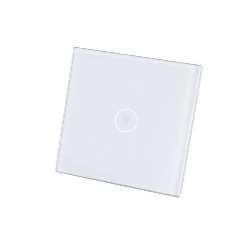 1 Gang WIFI Smart Switch Home Automation Control Touch Wall Light ...