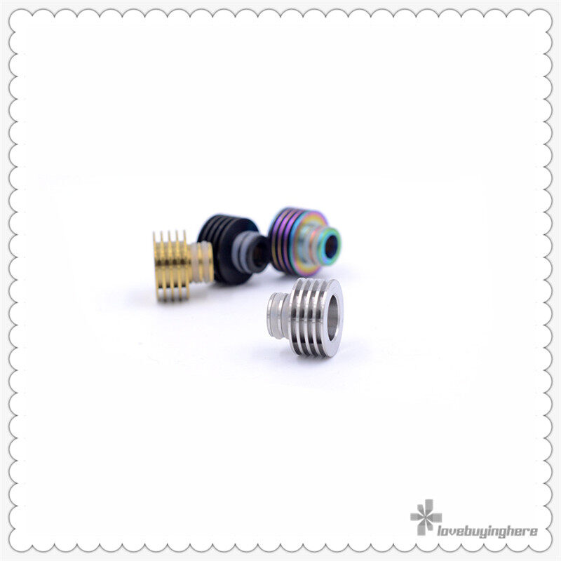 heat sink style 510 metal drip tip e