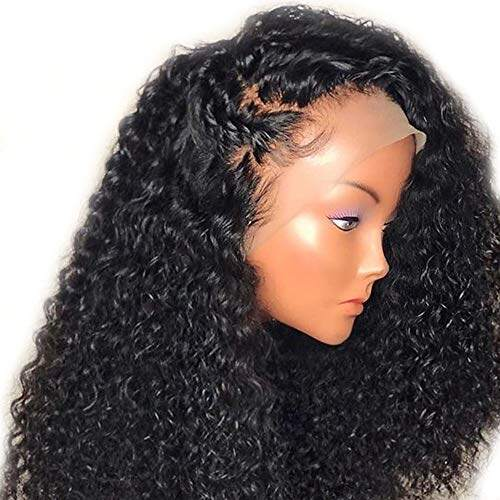 8a Ponytail Human Hair 130 180 Density Lace Front Wigs