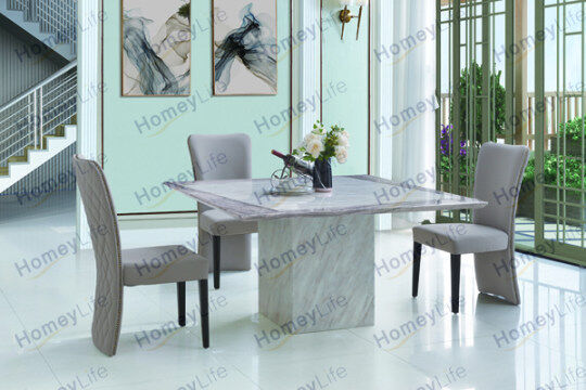 Rectangular Square Marble Dining Table At Bestmarbletable