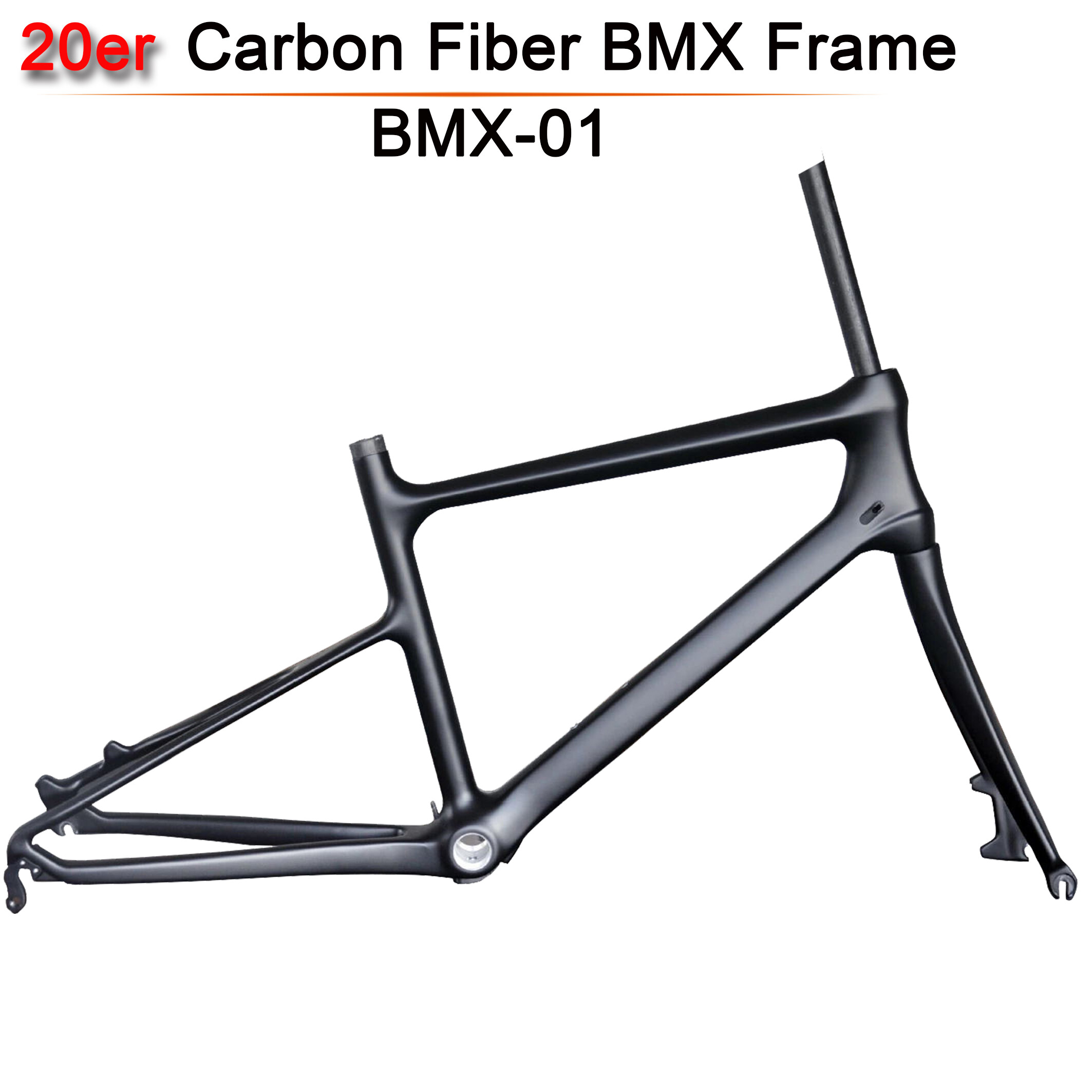 Carbon fiber bicycle frames new full carbon fiber BMX bike frame