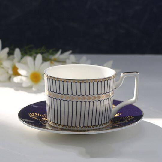 European coffee cup set ceramic cup + Household tableware gifts - Cheap porcelain tea cups