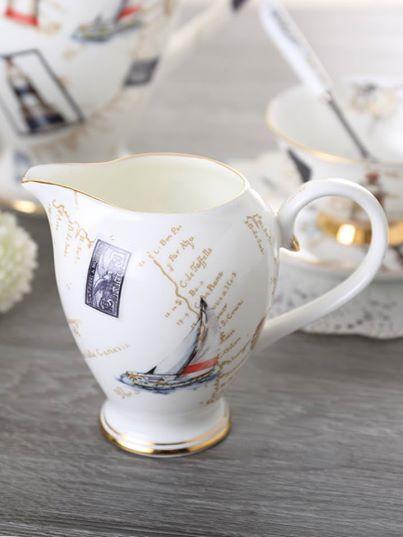 Bone China Porcelain Ceramic Coffee Tea High Quality Porcelain Set - Cheap teacup sets for sale