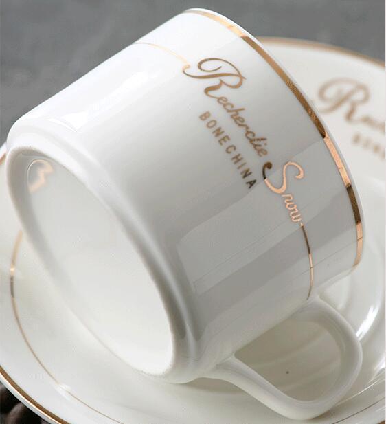 Ceramic Afternoon Tea Coffee Tea Set Cup Bone Porcelain Set - Tea and coffee mug sets