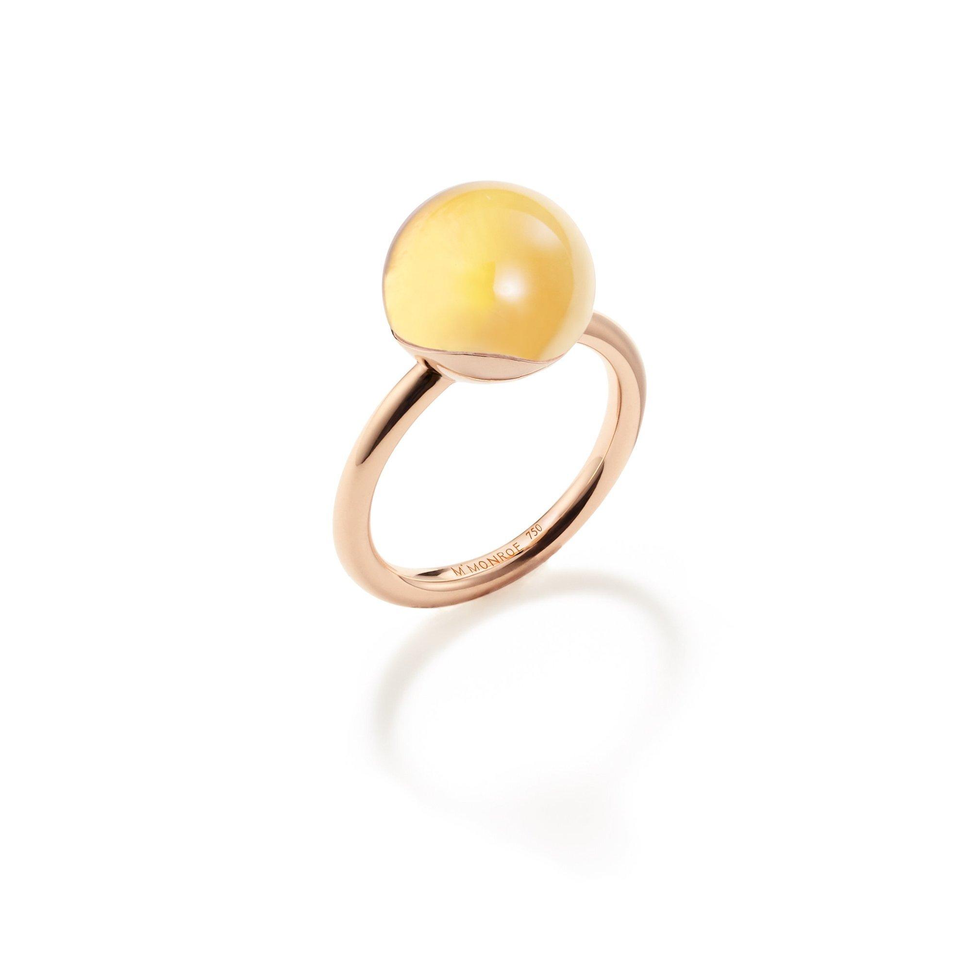 AURA Medium Sphere Ring