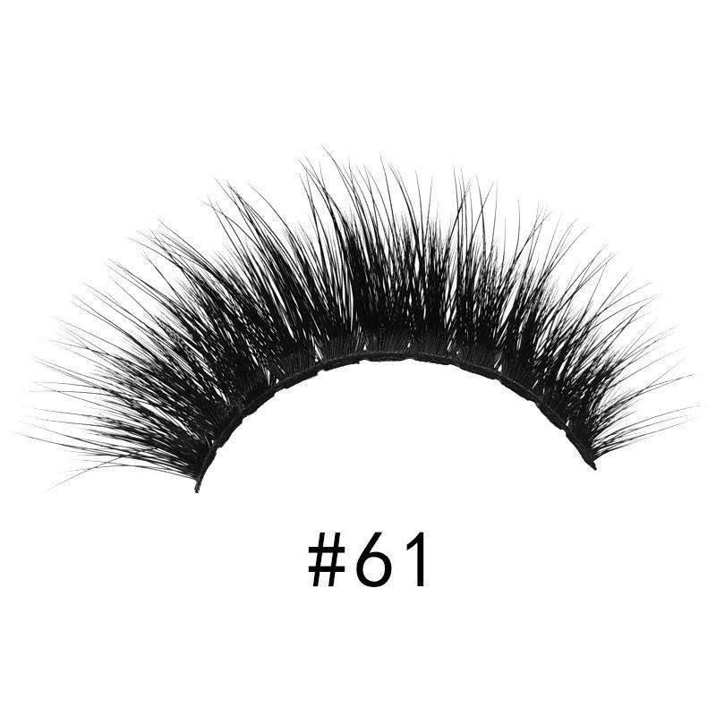 3D mink lashes false eyelashes natural long lash handmade volume mink eyelashes