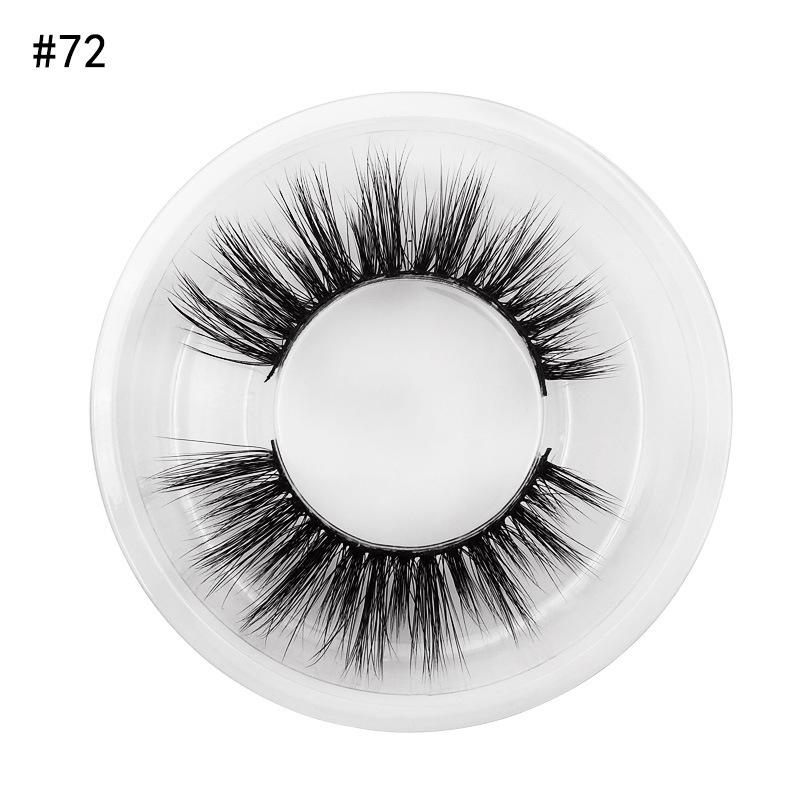 3D Mink Lashes Natural Long False Eyelashes Dramatic Volume Fake Lashes Makeup