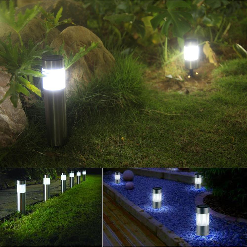Solar stainless garden stake lights solar lawn lights solar garden solar workwithnaturefo