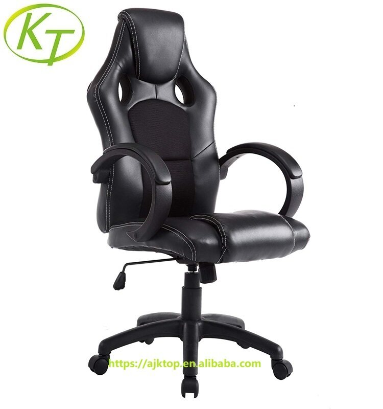 Overstuffed Swivel Bar Stools With Backs | Ergonomic Office Chairs Armchairs KT-OC6159