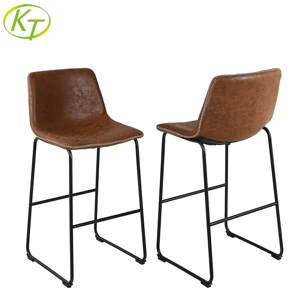 Front Room Bar Stools With Backs Furnishings Chairs KT-BS3148