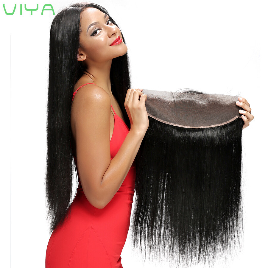 13x4 Lace Frontal Closure With Bundles 7a Cheap Brazilian Straight