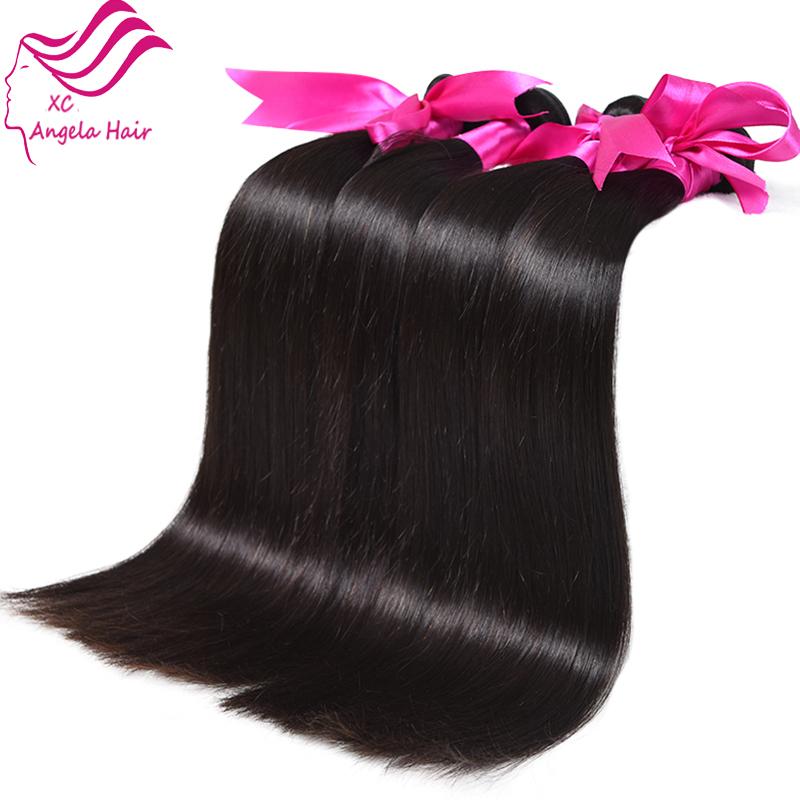 8a Brazilian Virgin Hair Straight 4 Bundles Brazilian Straight
