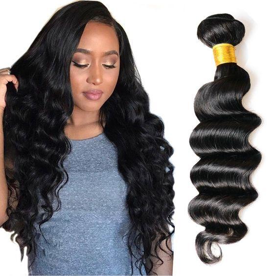 7a Brazilian Loose Deep Wave Virgin Hair 3 Bundles Lot Brazilian