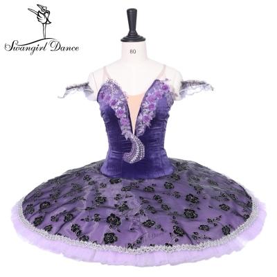 5f61228ae235 Purple Professonal Ballet Tutu Adult Performance Dance Stage Ballerina Tutu  BT9223
