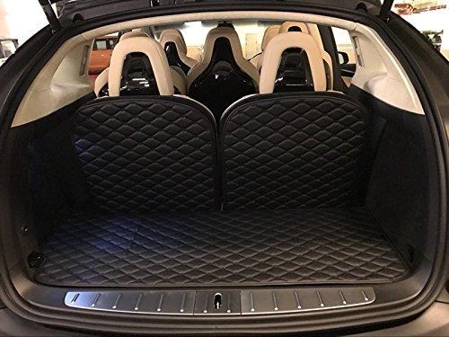 Worth-Mats Rear Trunk Mat For Tesla model X (Black)