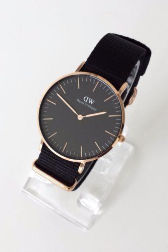 Dw Uhr Damen Schwarz